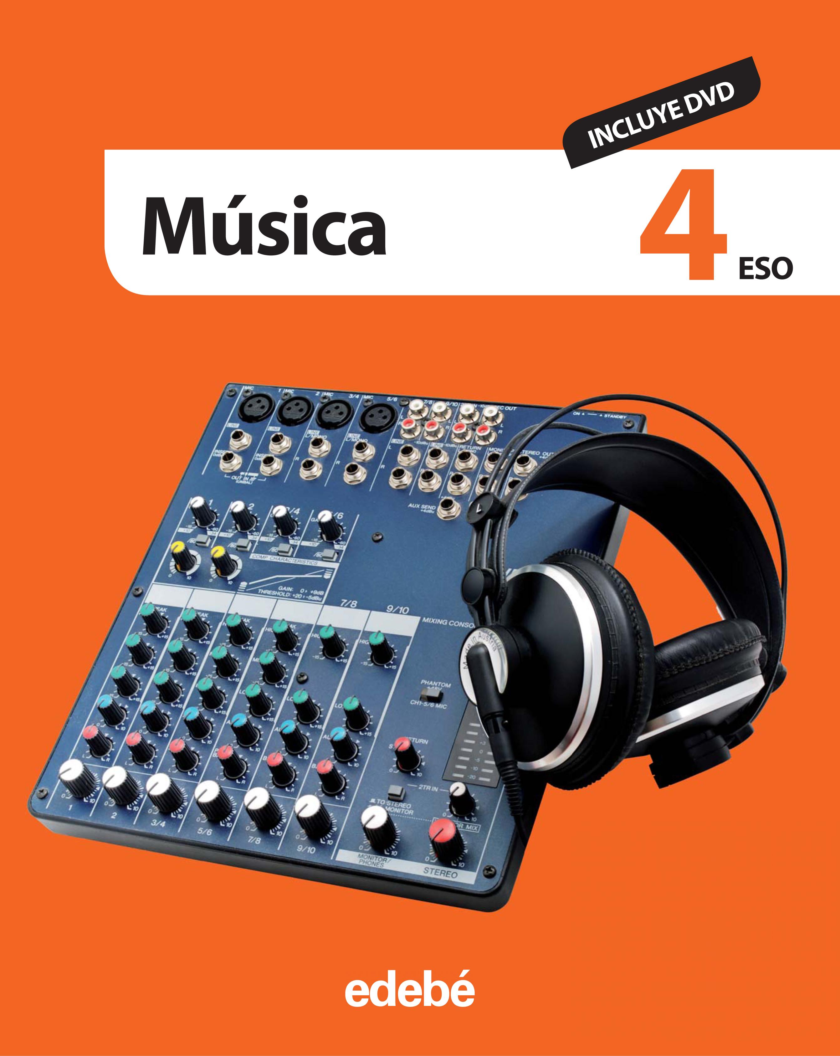 MÚSICA 4 ESO (INCLUYE DVD)