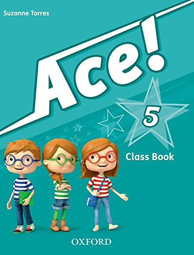 ACE! 5: CLASS BOOK AND SONGS CD PACK