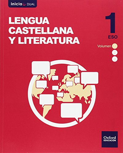 INICIA DUAL LENGUA CASTELLANA Y LITERATURA 1.º ESO. VOLUMENES TRIMESTRALES PACK. LIBRO DEL ALUMNO