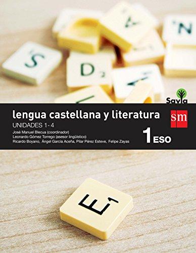 LENGUA CASTELLANA Y LITERATURA. 1 ESO. SAVIA. LIBROS TRIMESTRES