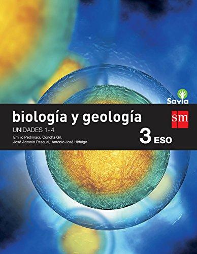BIOLOGÍA Y GEOLOGÍA. 3 ESO. SAVIA. TRIMESTRES