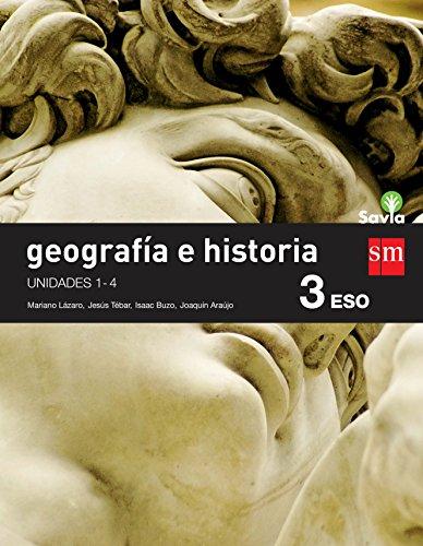 GEOGRAFÍA E HISTORIA. 3 ESO. SAVIA. TRIMESTRES