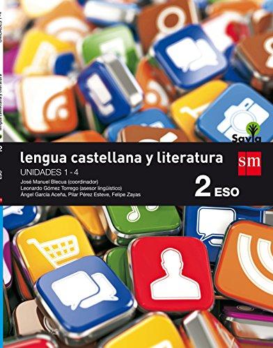 LENGUA CASTELLANA Y LITERATURA. 2 ESO. SAVIA. TRIMESTRES