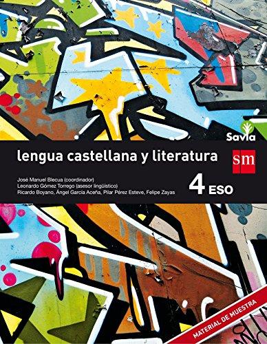 LENGUA Y LITERATURA 4 ESO (ANUAL) SAVIA