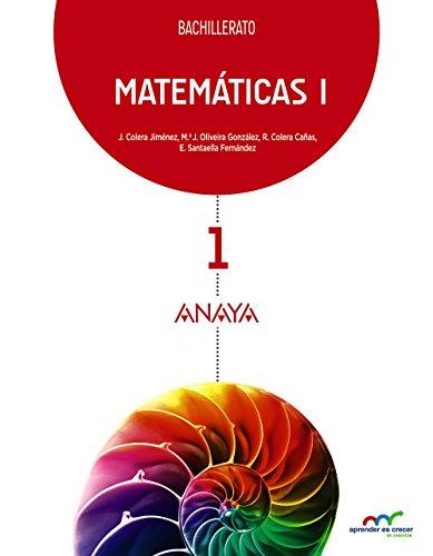 MATEMÁTICAS I. BACHILLERATO
