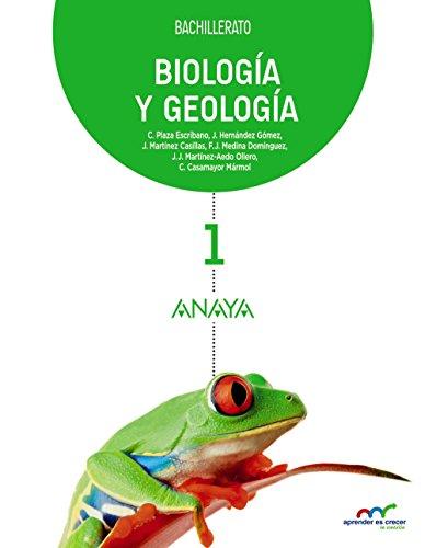 BIOLOGÍA Y GEOLOGÍA 1 BACHILLERATO.