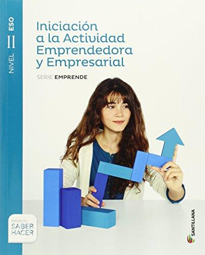 INICIACIÓN A LA ACTIVIDAD EMPRENDEDORA II CAST ED15