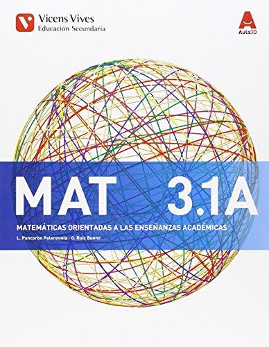 MAT 3 A TRIM (MATEMATICAS ACADEMICAS) AULA 3D