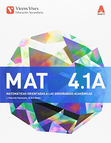 MATEMATICAS ACADEMICAS. MAT 4 A TRIM. AULA 3D