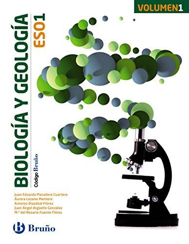 CÓDIGO BRUÑO BIOLOGÍA Y GEOLOGÍA 1 ESO - 3 VOLÚMENES