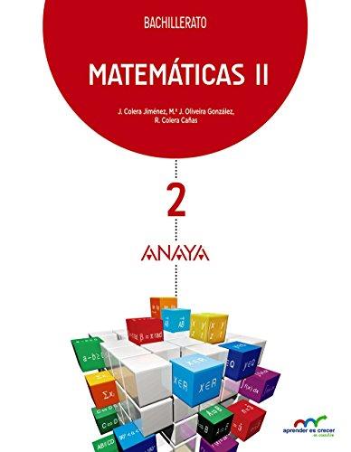 MATEMÁTICAS II. BACHILLERATO